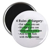 4 Rules of Surgery Magnet