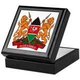 Kenya Coat of Arms Keepsake Box