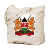 Kenya Coat of Arms Tote Bag