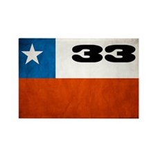 Chile 33 Rectangle Magnet (10 pack)