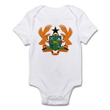 Ghana Coat of Arms Infant Creeper