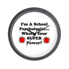 Cute Preschool teacher Wall Clock