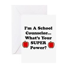 Cool Counselor Greeting Card