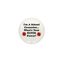 Unique School counselor Mini Button (100 pack)