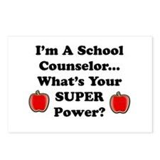 Cute School counselor Postcards (Package of 8)