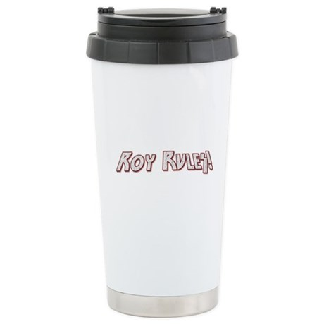 Roy Rules Ceramic Travel Mug