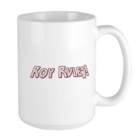 Roy Rules Large Mug