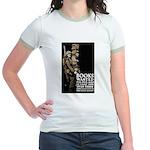 Books Wanted Poster Art Jr. Ringer T-Shirt