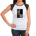 Books Wanted Poster Art Women's Cap Sleeve T-Shirt