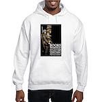 Books Wanted Poster Art Hooded Sweatshirt