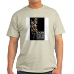Books Wanted Poster Art (Front) Ash Grey T-Shirt