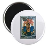 Woman's Land Army Magnet