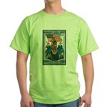 Woman's Land Army (Front) Green T-Shirt