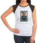 Woman's Land Army (Front) Women's Cap Sleeve T-Shi