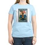 Woman's Land Army (Front) Women's Pink T-Shirt