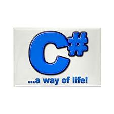 C# Lifestyle Magnet