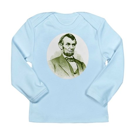 Abe Lincoln Long Sleeve Infant T-Shirt