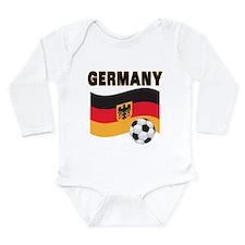 Germany Long Sleeve Infant Bodysuit