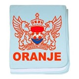 NETHERLANDS SOCCER Infant Blanket