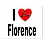 I Love Florence Italy Small Poster