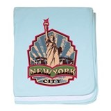 New York City Infant Blanket