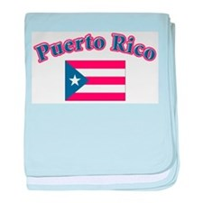 puerto Rico Infant Blanket