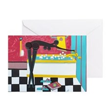 """Running the Bath"" Greeting Cards (Pk of 10)"