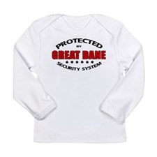 Great Dane Security Long Sleeve Infant T-Shirt