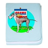 Mantle Dane Pi$$ on Obama Infant Blanket