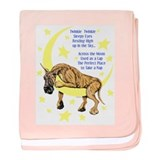 Great Dane Brindle Twinkle Infant Blanket