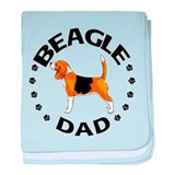 Beagle Dad Infant Blanket