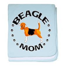Beagle Mom Infant Blanket