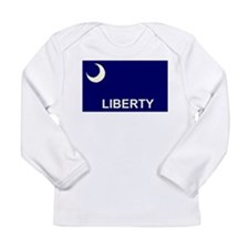 Fort Moultrie Flag Long Sleeve Infant T-Shirt