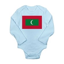 Maldives Long Sleeve Infant Bodysuit