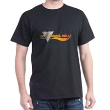 Do a barrel roll: Black T-Shirt