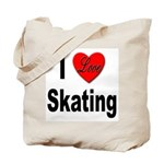I Love Skating Tote Bag