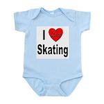 I Love Skating Infant Creeper