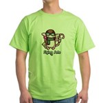 Flying Solo Green T-Shirt