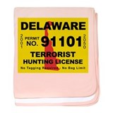 Delaware Terrorist Hunting Li Infant Blanket
