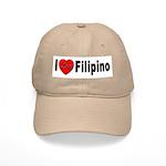 I Love Filipino Cap