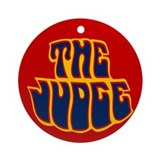 The Judge Ornament (Round)