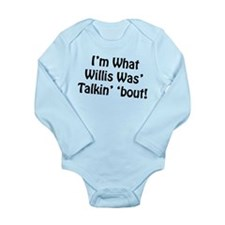 Willis Long Sleeve Infant Bodysuit