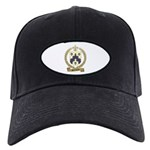 BARRILLEAUX Family Crest Black Cap