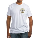 BARRILLEAUX Family Crest Fitted T-Shirt