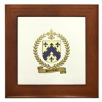 BARRILLEAUX Family Crest Framed Tile