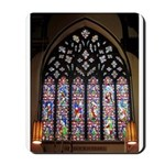 West Stained Glass Window Mousepad