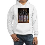 West Stained Glass Window Hooded Sweatshirt