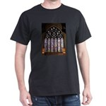 West Stained Glass Window Dark T-Shirt