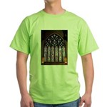 West Stained Glass Window Green T-Shirt