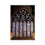 West Stained Glass Window Mini Poster Print